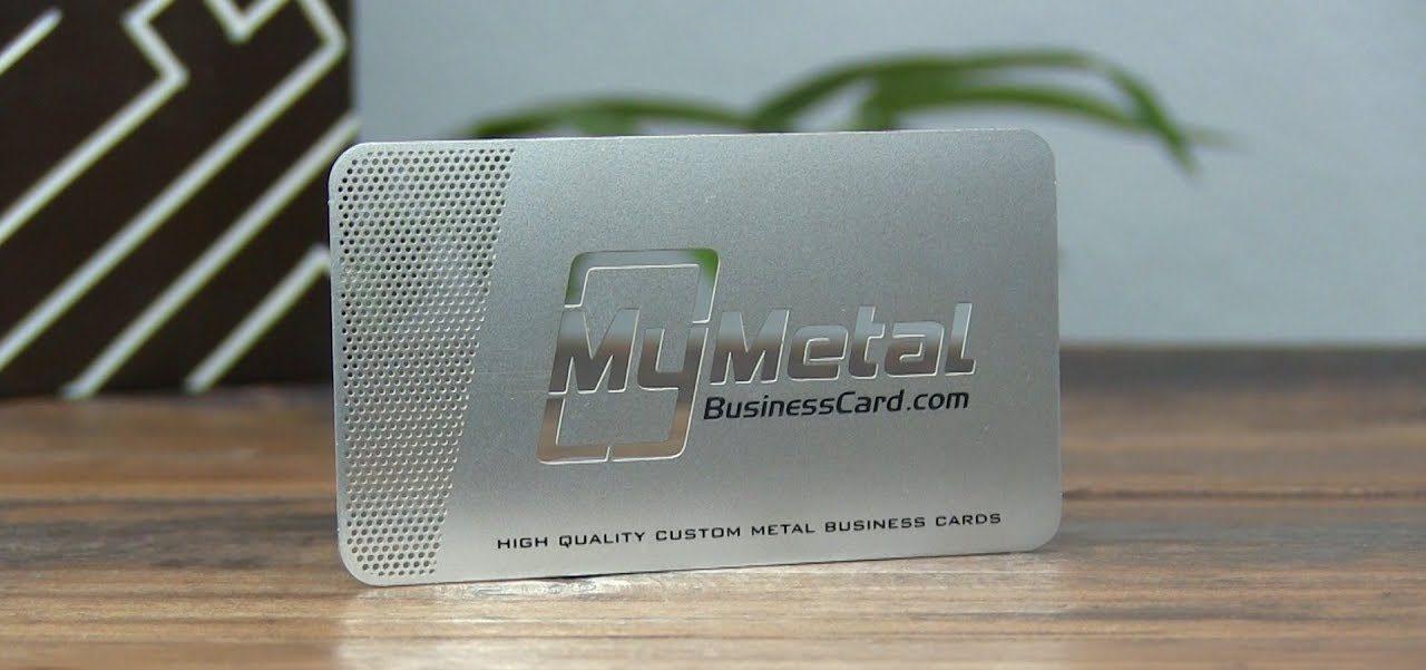 metal business cards china
