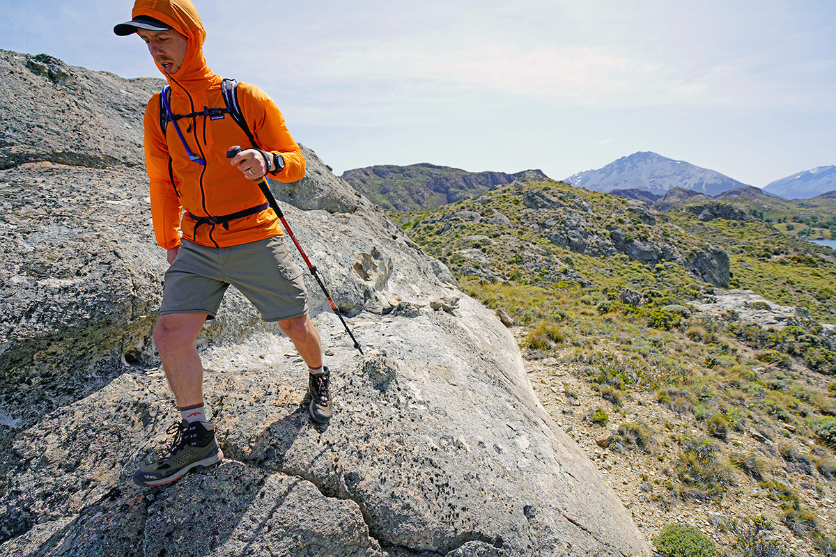 peak walk trekking pole