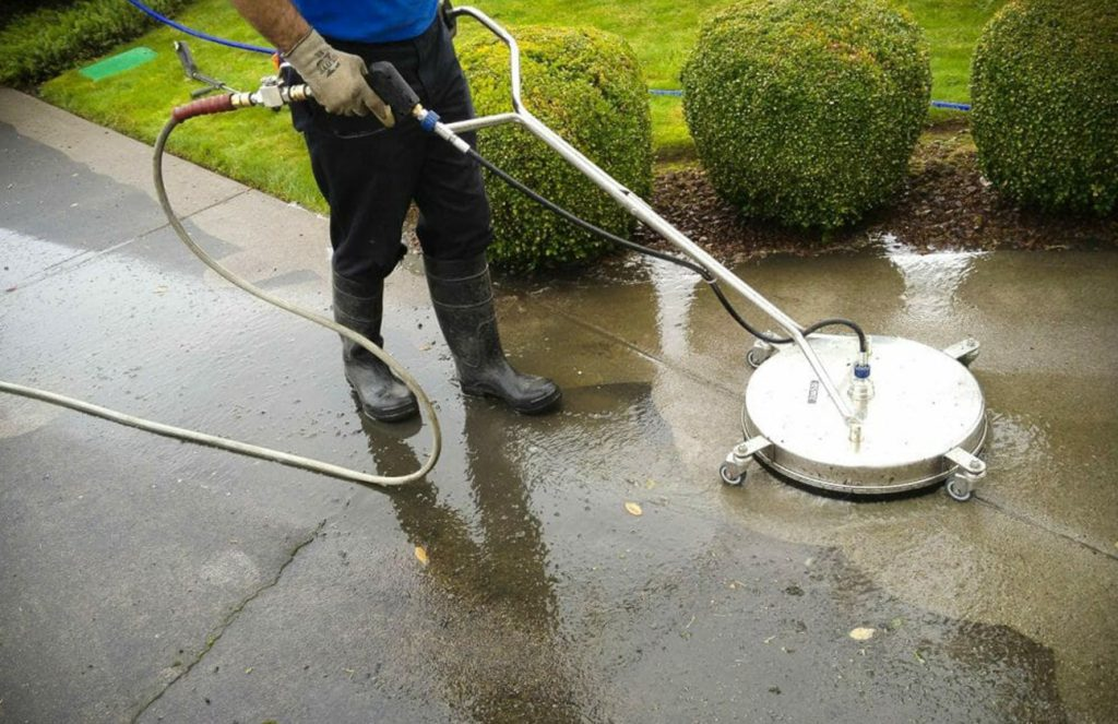 low pressure house washing near me